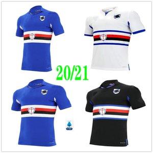 2020 2021 Sampdoria Futebol Murillo Linetty Jankto Yoshida Maroni Gabbiadini personalizada 20 21 UC Sampdoria Casa Fora Terceiro Football Shirt