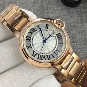 2020 El hombre clásico de la manera Mujer de 42 mm 33 mm 36 316 Orologi reloj de oro Top Relojes Vintage Lady Casual le luxe montres regalo para mujer Relojes de pulsera
