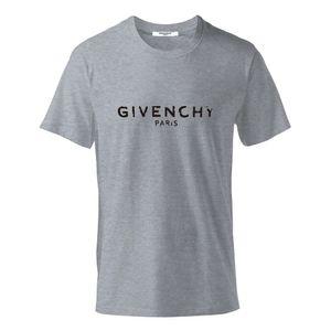 Top qualità mens 100% cotone T camicia di marca di abbigliamento di moda Designer T Shirt manica corta in cotone elastico camice di marca degli uomini Casual donna GIV Maschio