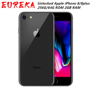 "Original remodelado desbloqueado iPhone da Apple 8 / 8plus LTE Mobile Phone 256G / 64G ROM 2GB RAM Hexa núcleo 12.0MP 5.5"" iOS"
