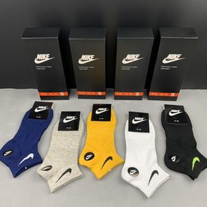 Высокое качество мужчины носки EU39-44 дышащий езда велосипедов Классический деловой Мужские носки Летняя Зимняя Термальная Короткие Носок