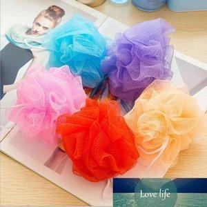 Multicolour Bath Ball Shower Body Bubble Exfoliate Puff Sponge Mesh Net Ball Cleaning Bathroom Accessories Home Supplies