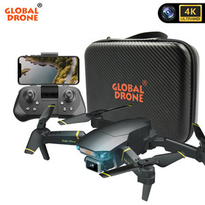 GLOBAL DRONE 4K DRON mit HD-Kamera EXA GD89 Pro RC Hubschrauber FPV Quadrocopter Hindernissensing Drohnen VS E58 Spielzeug