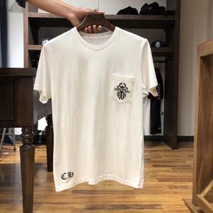 Heiße Verkäufe Herren T-Shirt-Qualitäts-Fraktur Letter-Muster gedruckt klassische populäre Mens Frau Tees 6 Styles