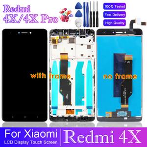 5.0 بوصة لXIAOMI Redmi 4X LCD شاشة عرض تعمل باللمس محول الأرقام للحصول على استبدال XIAOMI Redmi 4X العرض LCD برو