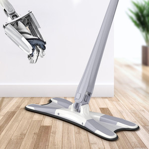 X-type Mop Comes with 3 Reusable Microfiber Pads and 360-degree Flat Mop To Replace Household Disposable Cleaning Tools