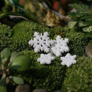 10pcs clássica Branca Floco de festa natalícia do Natal Ornamentos Home Decor Natal decorações da árvore de navidad 2019 Xmas @P vdZu #