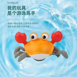 Child's toys simulation Leash crabs amphibious Crawling paddle crabs Baby shower toy both boy and girl