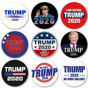 Trump Symbol Abzeichen US-Wahl-Abzeichen Trump Supporters Abzeichen Brosche-Mantel-Jacken-Rucksack-Revers-Stifte DHE1183