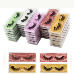 Eyelashes Wholesale false mink Lashes Natural False Eyelashes Long Set faux cils Bulk Makeup wholesale lashes