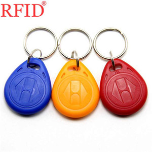 ID de la carte de contrôle d'accès 125khz EM4305 Réinsularité Keyfobs Enritable Keyfobs RFID Bague à clé RFID Bague de proximité Token Keychain Beaucoup de couleurs Sélectionnez 10