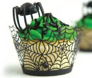 1шт Хэллоуин бумаги завертчица Cupcake Toppers Детские сувениры украшения партии торт Топпер Хэллоуин торт Around
