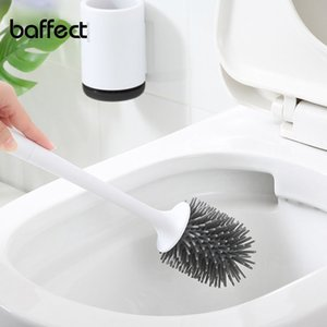 Baffect TPR فرشاة المرحاض رئيس حامل المطاط فرشاة المرحاض حامل نحدد منظف الحمام معدات تنظيف حامل مع