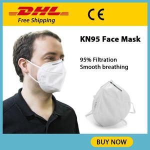 2020 respirable cómodo 4 capa de estructura sólida de recogida de polvo no tejido KN95 Packaging gasa único para adultos Relajado Máscara Kn95