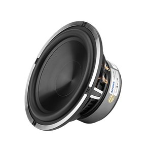 Freeshipping 6.5 Inch Woofer Audio Car Music Speaker Driver 4 Ohm 50W Bass Auto Waterproof Speaker Aluminum Basin DIY Sound System