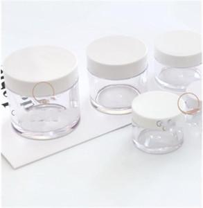 Barattolo chiaro bottiglie di vetro bianco della copertura a spirale Lady cosmetico di corsa separata capacità di imbottigliamento opzionale esterno domestico di vendita calda 3 5QY G2