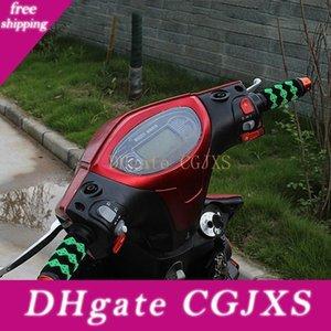 10pcs de la motocicleta eléctrica de la bicicleta de la manija Modificado, Anti -Skid manejar conjuntos de cuero, goma manejar conjuntos