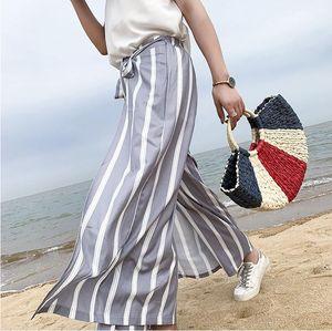 2020 Новая мода MOON Стро сумки Женщины лето пляж сумка Rattan сумка ручной работы Красочные тканые сумки для женщин Dropship