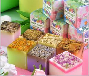 toptan Sıcak tarzı çiçek esans sabun yüz sabunu toptan beyazlatma hediye el yapımı esansiyel yağ sabunu gül