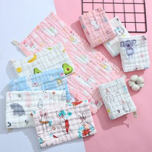 The latest 25X50CM size pure cotton very comfortable quality bubble style yarn baby towel baby towel children face towel
