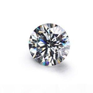 F vendite allentato Moissanites Pietra Ij Colore turno 6 .0mm diamanti taglio brillante Moissanites Syntheti pietra di alta qualità