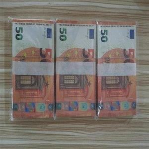 Neue 10 20 50 100 Euro Fake Geld Billet Film Geld Faux Billet Euro 20 Spielen Sammlung und Geschenke M15