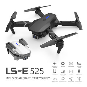 RC Drone Quadrocopter UAV with 4K Camera E525 WIFI FPV Wide Angle HD Height Hold Remote Control Foldable Quadcopter Dron Toy 1pcs
