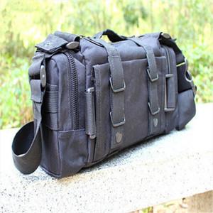 waist bag HENGSONG Camouflage Bag Military Waist Pack Canvas Camera Single Shoulder Messager Bag 641456 Drop Shipping