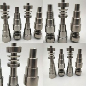 Cone Metal Titanium Smoke Nails 10mm 14mm 18mm Smooth Surface Nail High Quality Cigarette Appliance Accessory 28bc G2