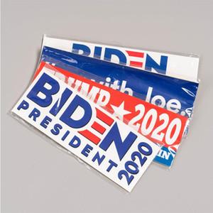 Байден на пост президента 2020 Стикеры 10 PCS / Set 9 X 3 дюйма Байдена тележка автомобиль бампер наклейка Джо Байдена Декаль автомобиль Баннер DHA1074