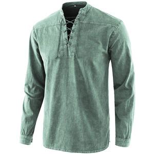 Designer camice maglietta a maniche lunghe da uomo traspirante superdotati parti superiori casuali spting autunno Mens # 550
