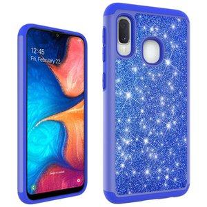 Glitter CgjxsFor Samsung A70 caso las mujeres de lujo brillante de Bling protectora del caso para Samsung A30 A50 A10