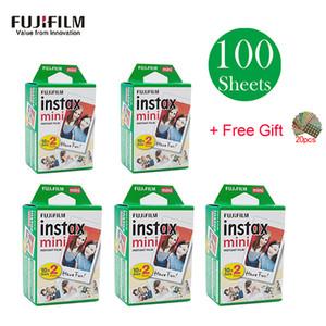20 - 100 fogli Instax Mini White Film Instant Photo Paper Per Instax Mini 7s 8 9 9 70 25 50 90 Camera SP-1 fotocamera da 2