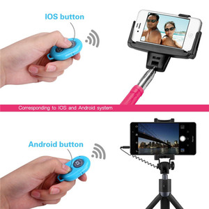 Wireless Bluetooth Smart Phone Camera Remote Shutter, Suitable For Selfie Stick Monopod Compatible Android For Iphone