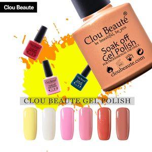 Clou Beaute Nail UV Gel Polish лак СГВПООН эм гель для ногтей Праймер замочить от 79 конфеты цвета Профессиональный набор косметики