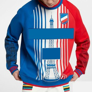 Men Women Hoodies with Famous Towel Print High Quality Autumn Winter O-neck Sweatshirt Fashion Streetwear with Multi-color Print Size S-3XL