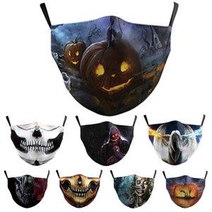 ağız güneşten yıkanabilir maske Halloween siyah toz geçirmez yıkanabilir ve tekrar kullanılabilir toka maske Ayarlanabilir kulak kişiselleştirilmiş mask