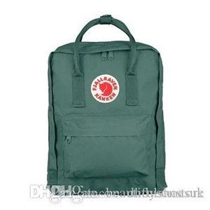 Аутентичные Классический Фьель Ревен Kanken туман Полосатый листьев Зеленый Студенты верхом холст рюкзаки Спорт Водонепроницаемая рюкзаки Outlet Online Outlet
