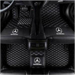 Adatto per Mercedes Benz W204 W205 C200 C300 C350 C6Luxury su misura per tutte le stagioni tappeti per auto impermeabile e antiscivolo non sono tossici e insapore