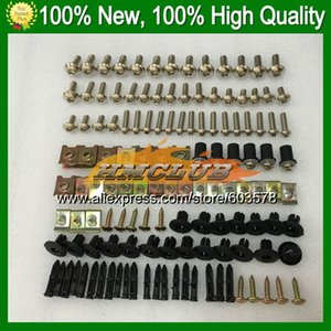 Fairing bolts full screw kit For NINJA ZX250R 08 09 10 11 12 ZX 250R 08 2009 2010 2011 2012 CL6 Nuts bolt screws Nut