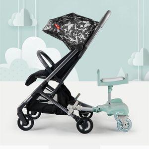Cochecitos # 2021Segundo Niño Artefacto Cochecito de bebé Accesorios de asiento Twin Asiento Auxiliar Pedal Trasero Remolque de cola de pie