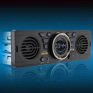 MP3 Auto Bluetooth LCD Display Multimedia Vehicle Car Radio Audio Player In Dash Stereo Electronics 2 Speaker Accessories FM