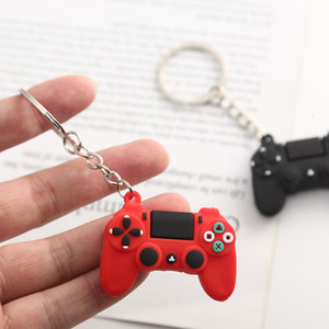 Pvc Cartoon Game Controller Keyring Cute Gamepad Boyfriend Joystick Key Chain Men Boy Bag Pendant Gift Keychain