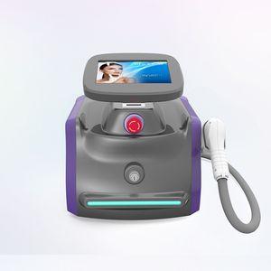 Taşınabilir lazer 808 / Klinik diyot lazer 808 nm epilasyon / 808 nm diyot lazer saç kesme makinesi diodo