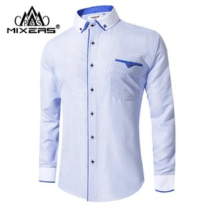 2018 New Arrival White Dress Shirt Men Long Sleeve Business Casual Men Shirt Comfortable Dress Shirts Office Clothing
