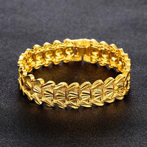 Gioielli Prepotente 18K riempito la catena del braccialetto degli uomini del regalo di compleanno