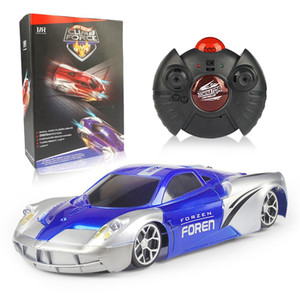 Children entertainment toy infrared wireless remote control car multi-function climbing stunt climbing wall car both boy and girl