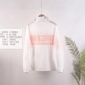 mmCQe crisantemo ropa de béisbol ins todo-fósforo de la manera de la ropa del juego de béisbol protección solar ropa de las mujeres de la ropa 2020 protector solar wi hspdz