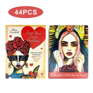 Board Card Express Oracle Divine Family Spirit Party Goddess Fun To Love 44pcs Game Inner Card Cards Feminine Tarot Your Your yxlDkq xhlove