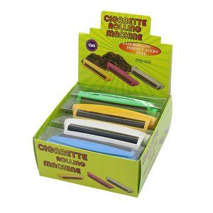 Cigarette Rolling Machine manuale 6 colori del tabacco Strumenti Roller Cigarette Maker accessori di fumo zdll0825.